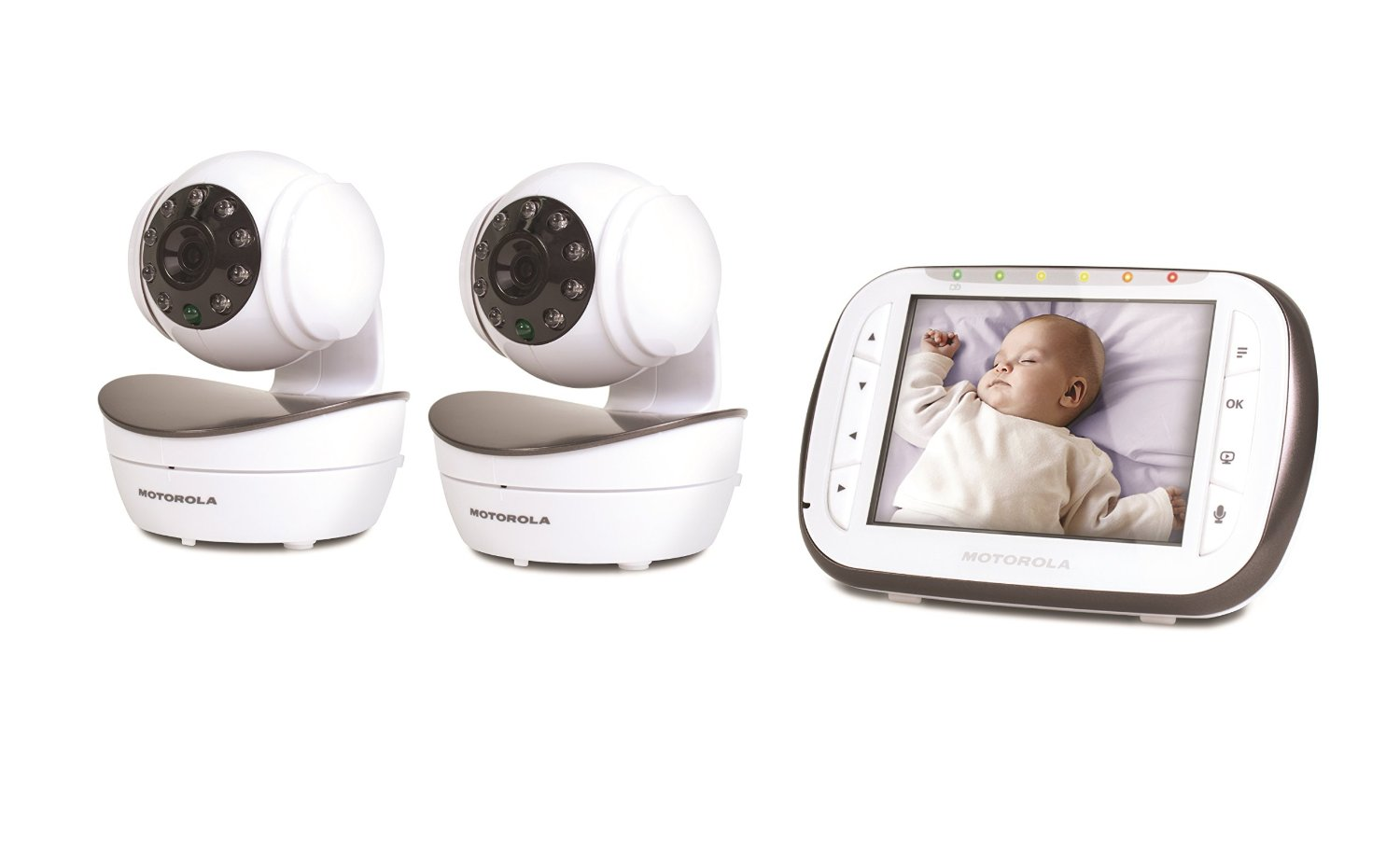Mbp43 2 Digital Video Baby Monitor