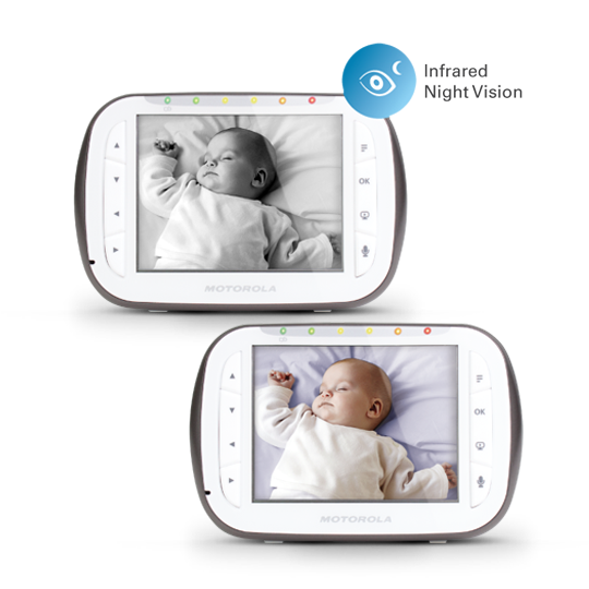 Motorola MBP43-2 Video Baby Monitor